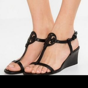 Tory Burch Miller Wedge sandals - Perfect Navy